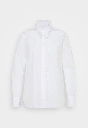 AFGANO - Button-down blouse - weiss