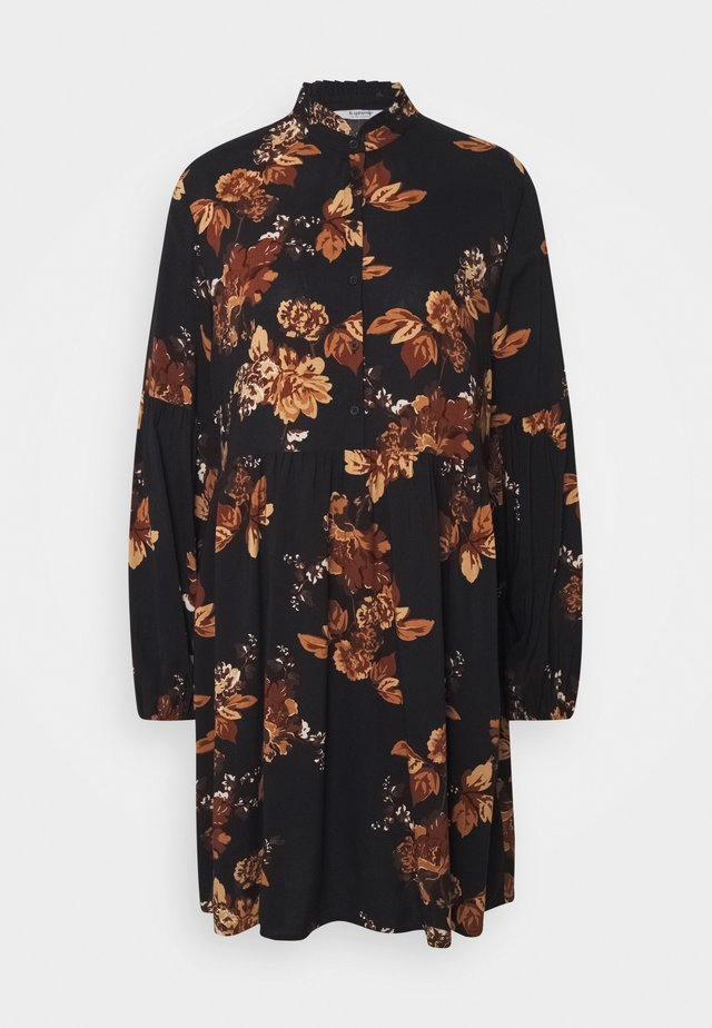 HENNA DRESS - Shirt dress - tortoise shell mix