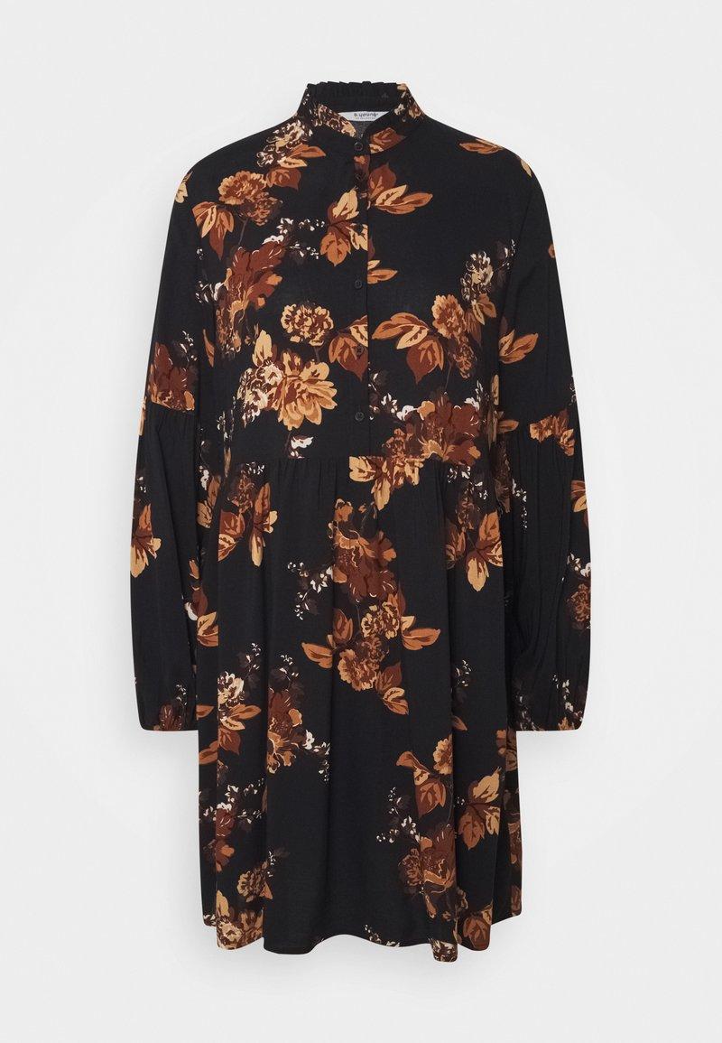 b.young - HENNA DRESS - Shirt dress - tortoise shell mix