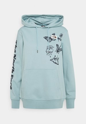HIMALAYAN BOTTLE SOURCE HOODIE - Sweatshirt - tourmaline blue