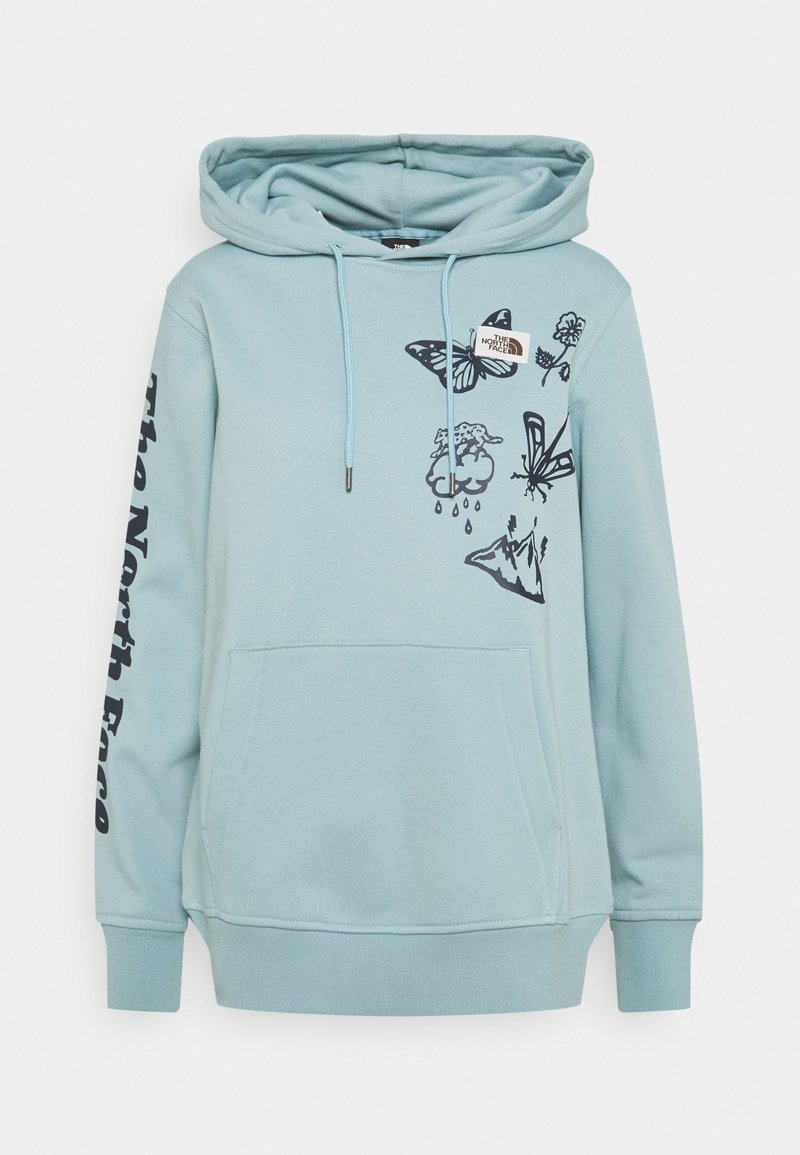 The North Face - HIMALAYAN BOTTLE SOURCE HOODIE - Mikina - tourmaline blue