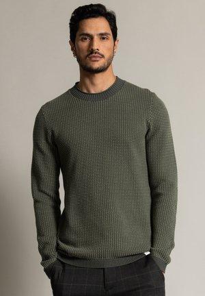 Sweatshirt - oliv