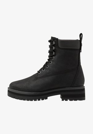 COURMA GUY BOOT WP - Schnürstiefelette - black