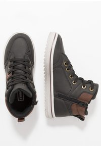 Friboo - High-top trainers - black - 1