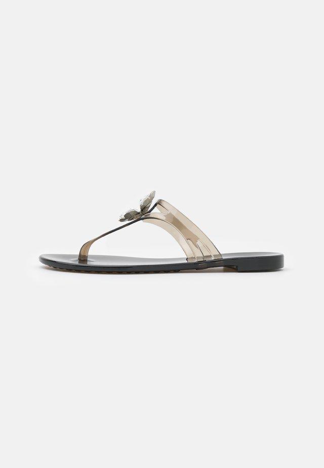QUADRIFOGLIO - Sandály s odděleným palcem - nero
