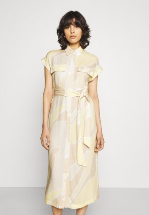 ARIANA DRESS - Vestido camisero - yellow