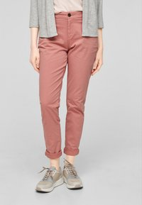 s.Oliver - Trousers - blush - 3