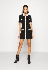 maje - RAVENY - Jumper dress - noir - 0