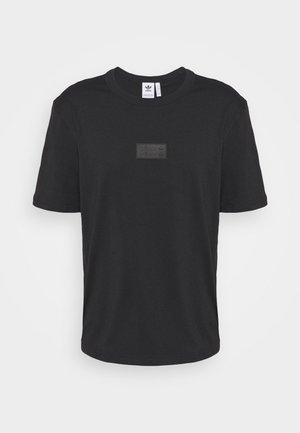 BADGE UNISEX - Basic T-shirt - black