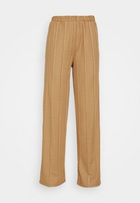 JDY - JDYBINA WIDE LOUNGE PANT - Trousers - toasted coconut - 4
