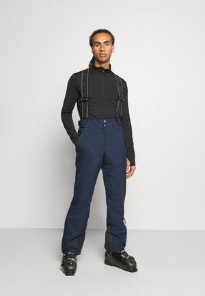 Snow pants - blue/black
