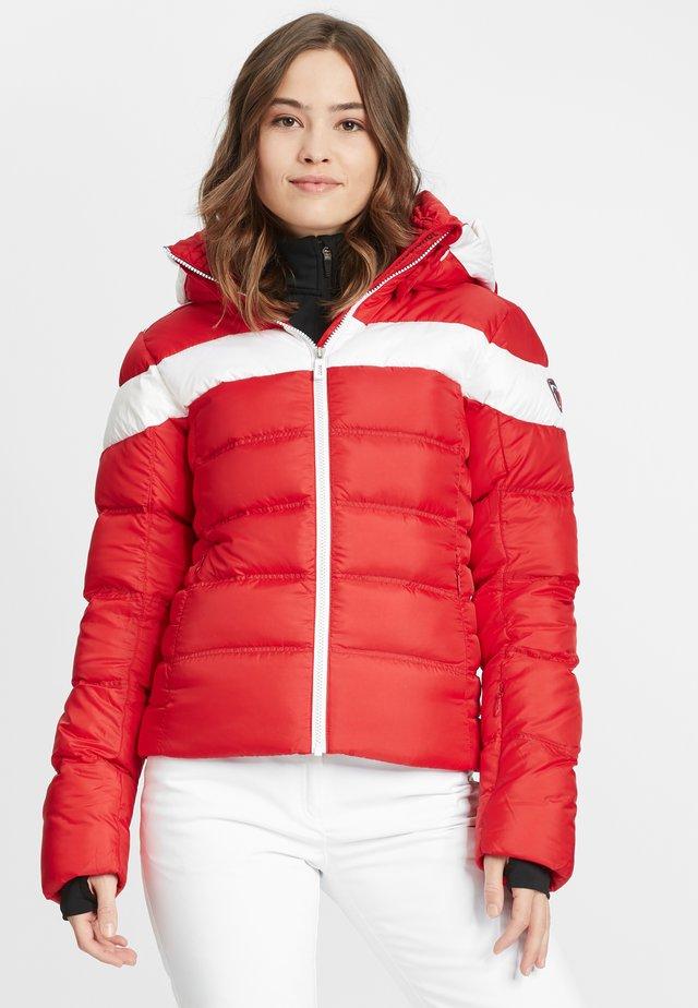 Ski jacket - red