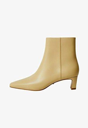 LARA - Kotníkové boty - ecru