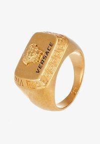 Versace - Bague - nero/oro tribute - 4
