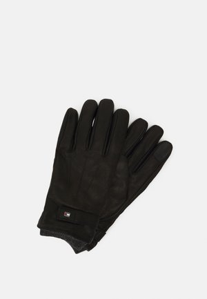 ELEVATED FLAG GLOVES - Gloves - black
