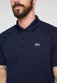 Lacoste Sport - TENNIS - T-shirt de sport - navy blue - 4