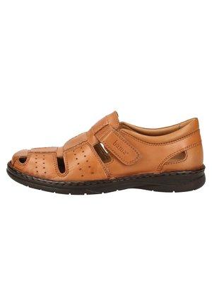 BAMA HALBSCHUHE - Walking sandals - brown