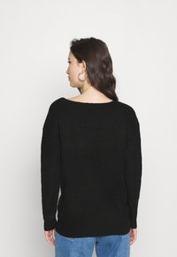 Pieces - PCBABETT  - Maglione - black - 2