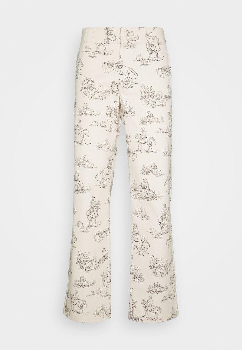 Dickies - SIBLEY PANT - Chino kalhoty - ecru