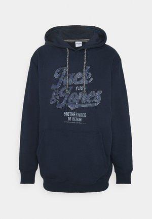 JJJACK HOOD  - Hoodie - navy blazer