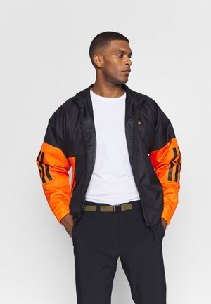 Kurtka Outdoor - black/orange