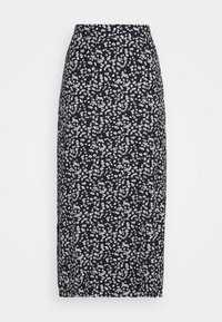 Maxi skirt - black/white