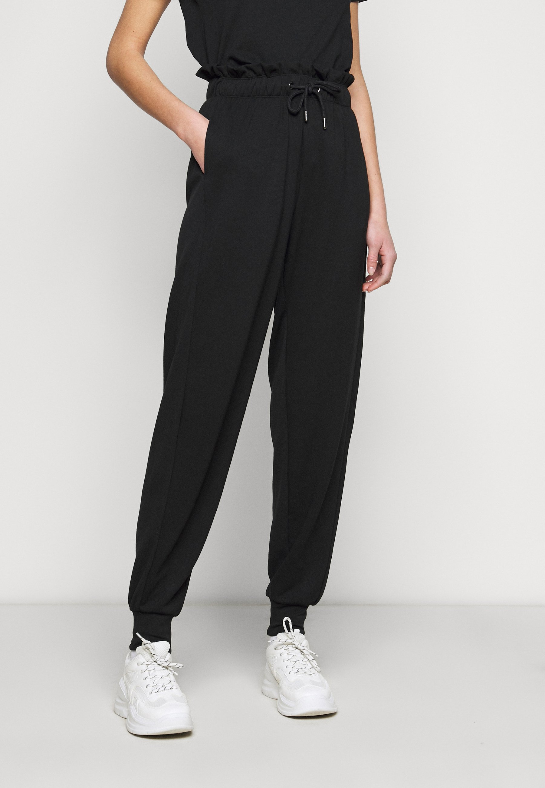 Women ONLPETRA PAPERBAG PANT - Trousers