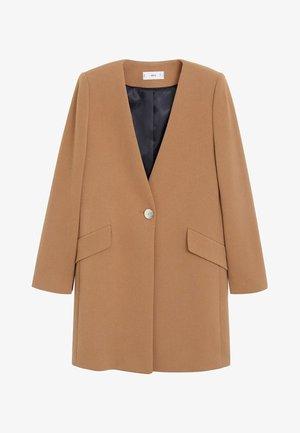MERYL - Short coat - mittelbraun