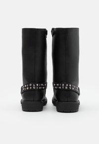 Gioseppo - Kovbojské/motorkářské boty - black - 2
