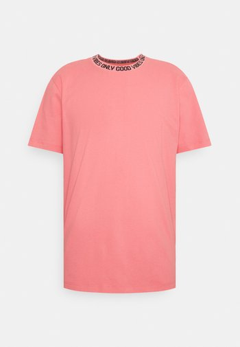 I LIKE TURTLES - T-shirt print - salmond rose
