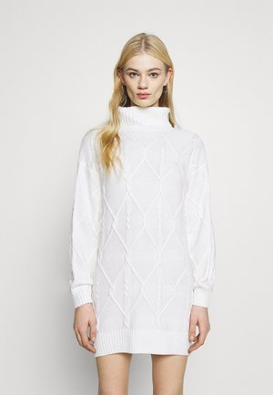 ECLECTIC DRESS - Jumper dress - white