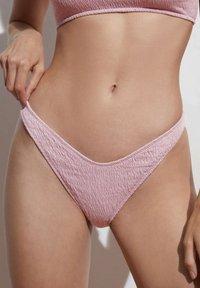 OYSHO - Bikini bottoms - mauve - 0