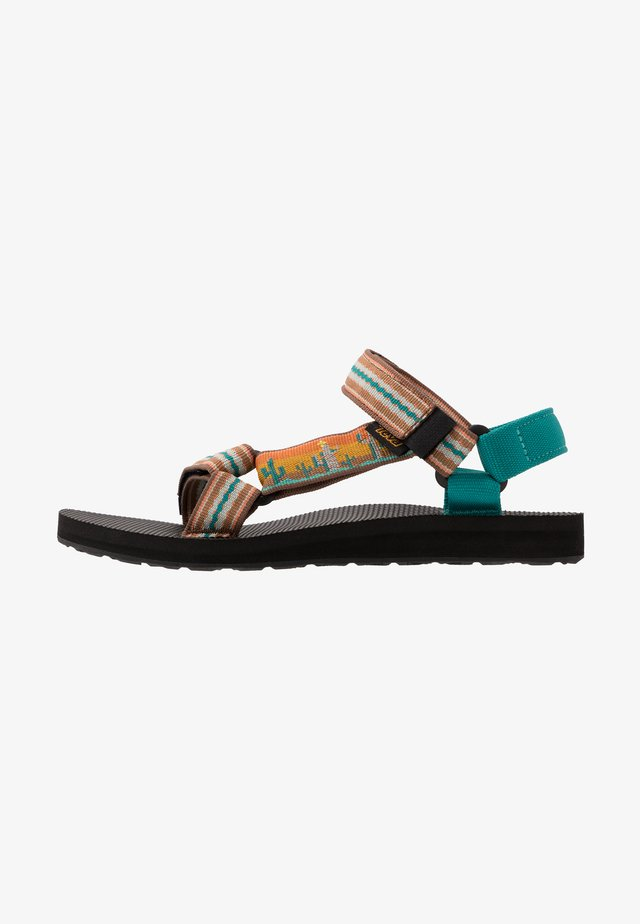 ORIGINAL UNIVERSAL WOMENS - Walking sandals - cactus/sunflower