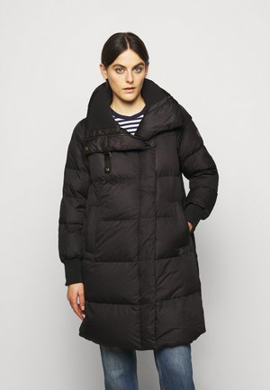 MATTE FINISH COAT  - Down coat - black