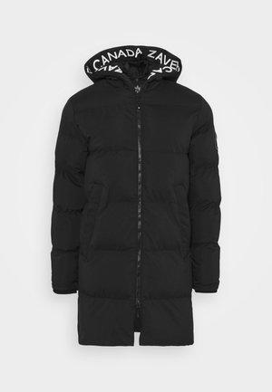 ZAVETTI CANADA SALVINO LONGLINE PUFFER - Zimní kabát - black