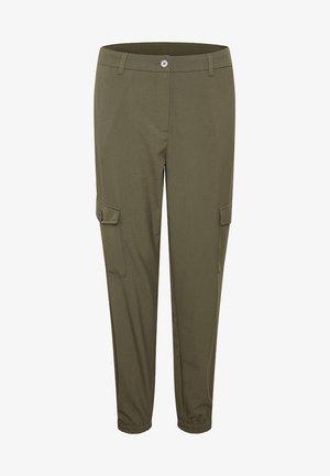 KAEDA  - Spodnie materiałowe - green