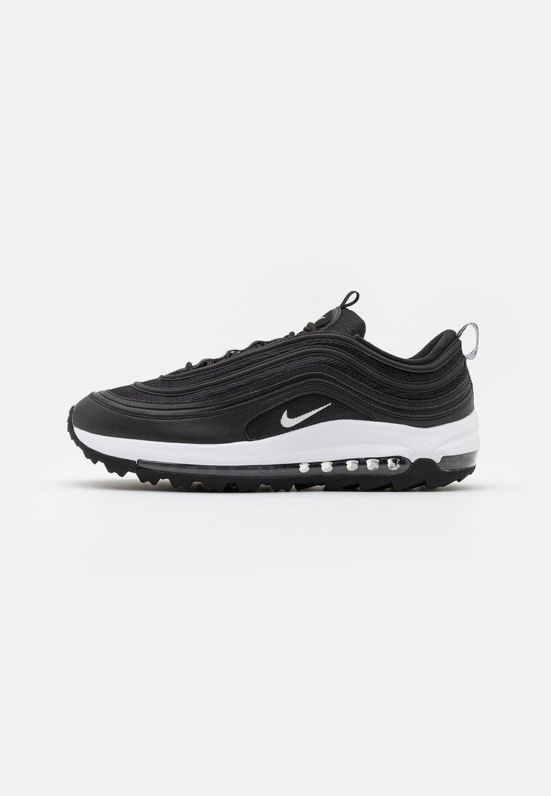 Nike Golf - AIR MAX 97  - Obuwie do golfa - black/white