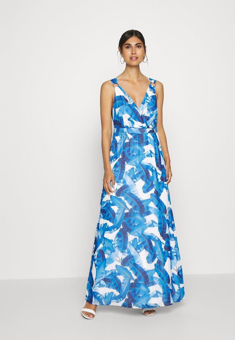comma - Maxi dress - blue