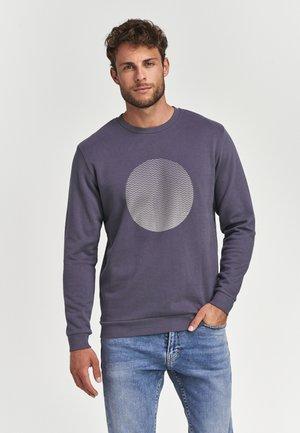 GRADIENT DOT  - Sweatshirt - dusty antracite grey