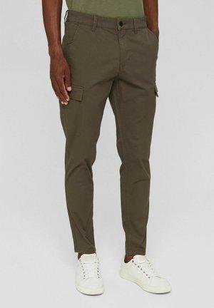 Cargo trousers - dark khaki