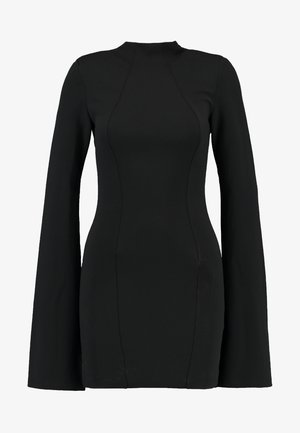 THE SENSE OF MYSTERY DRESS - Jersey dress - black