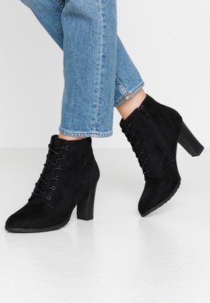 ANTONIA - High heeled ankle boots - black