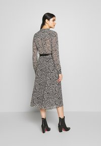 MICHAEL Michael Kors - DRESS - Shirt dress - black/bone - 2
