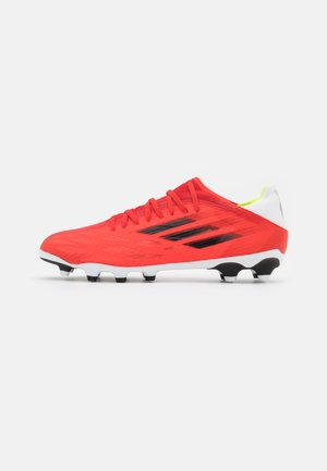 X SPEEDFLOW.3 MG - Moulded stud football boots - red/core black/solar red
