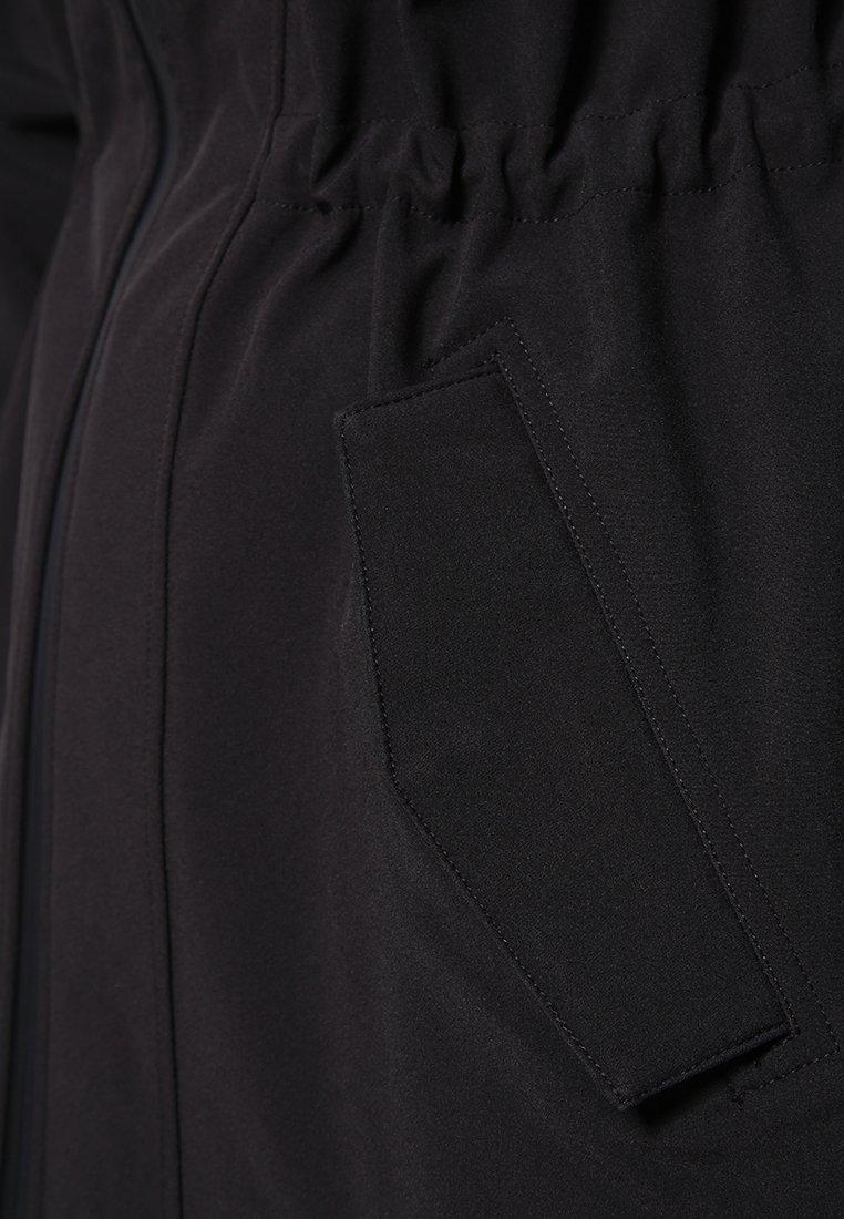 Zizzi Parkaer - black solid -  PJRXK