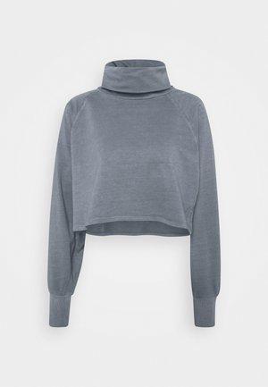 NMBABE ROLL NECK - Sweatshirt - dark grey