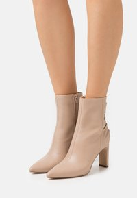 Zign - High heeled ankle boots - nude - 0