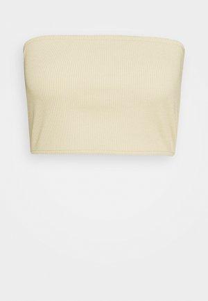 BANDEU - Bustier - beige