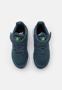 adidas Performance - DURAMO SL UNISEX - Sports shoes - legacy blue/team royal blue/signal green - 3
