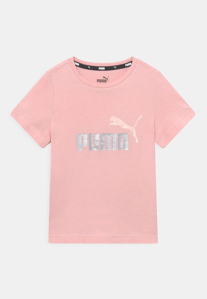 Puma - LOGO TEE UNISEX - T-shirt print - lotus